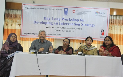 A workshop for developing an Intervention Strategy