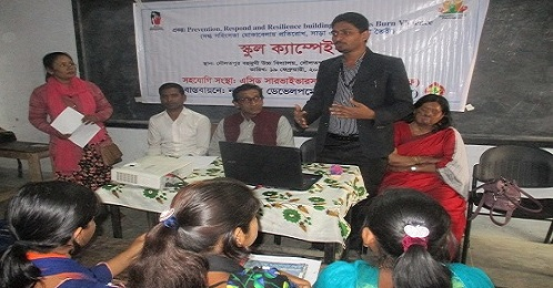 ASF Organised School Campaign